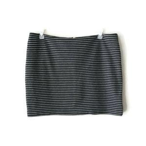 New York & Company Stretch Plus Size Mini Skirt